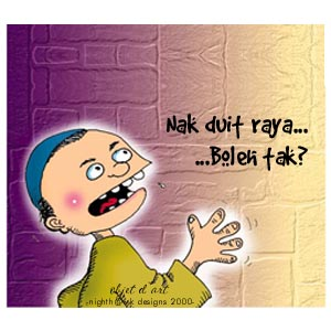 Image result for minta duit raya