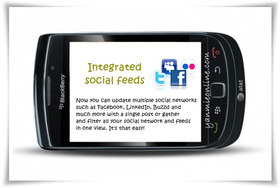 integrated socail feeds