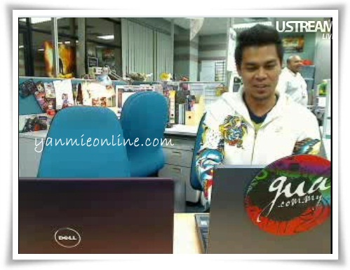 live chat dengan fauzi nawawi