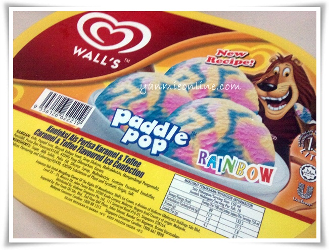 wall's paddle pop