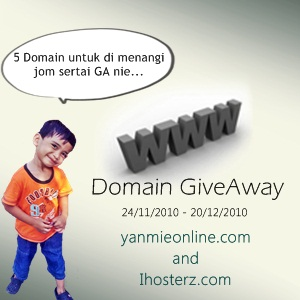 domain giveaway