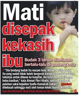 So bagaimana caranya untuk melaporkan kes penderaan kanak-kanak ini??