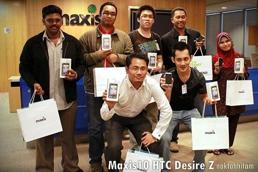 maxis desire z