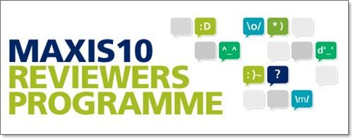 maxis10 program