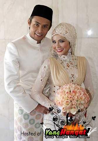 gambar perkahwinan ayu raudah