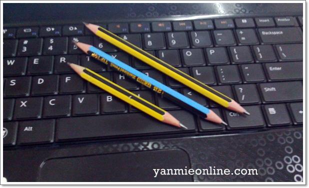 pensil kontot