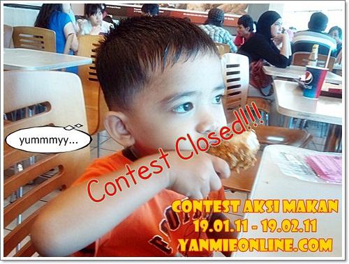 contest closed