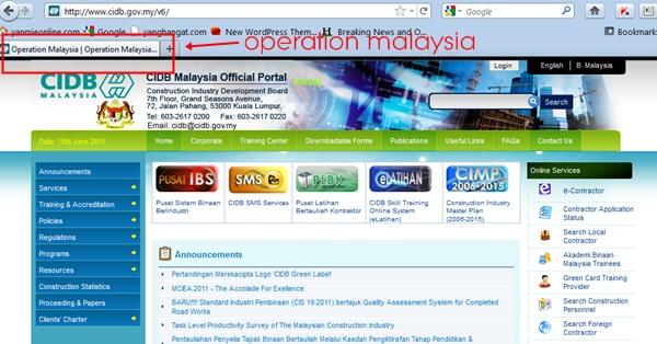 operation malaysia