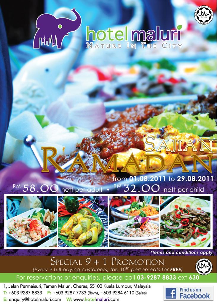 buffet ramadhan hotel maluri