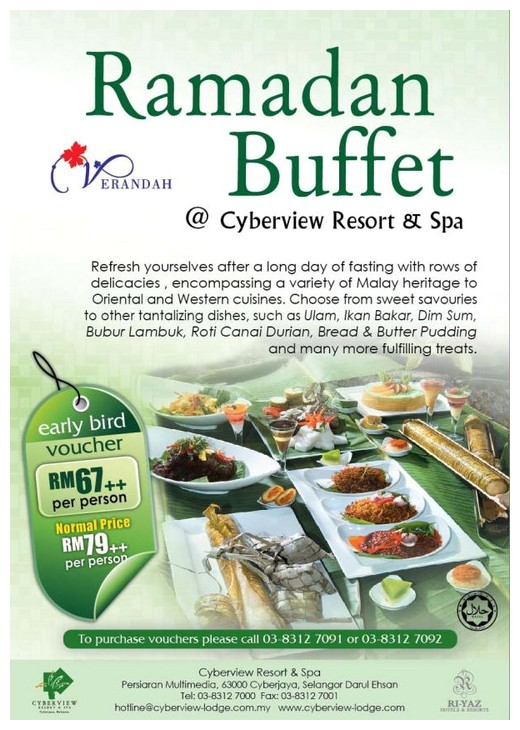cyberview ramadhan buffet