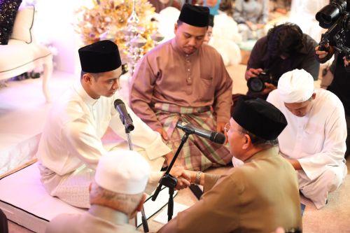 gambar kahwin noh dan mizz nina