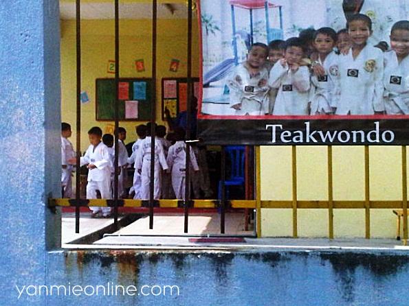 kelas teakwondo