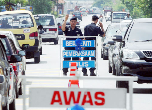 Image result for roadblock di duta