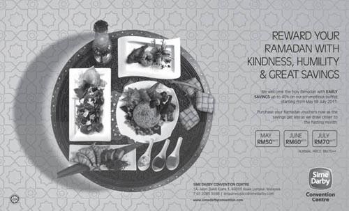 sime darby buffet ramadhan