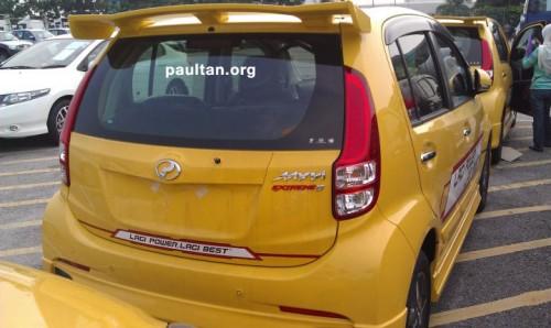 Gambar Perodua Myvi baru 1.5 Extreme Majestic Yellow