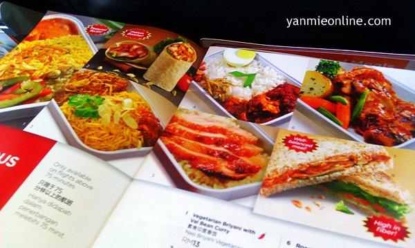 menu airasia