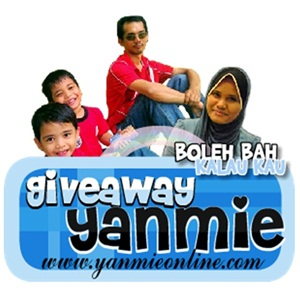 giveaway yanmie