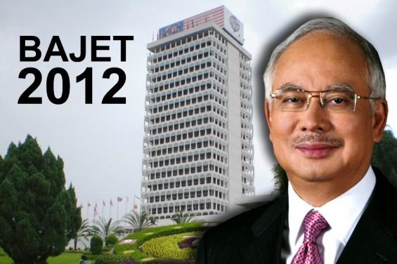 pembentangan bajet 2012