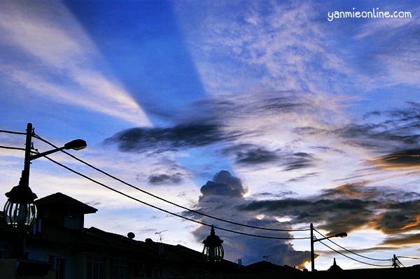 awan petang