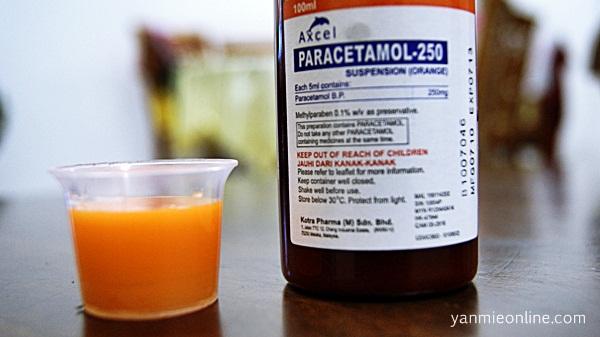 ubat demam kanak-kanak