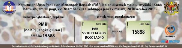 semak keputusan pmr 2011