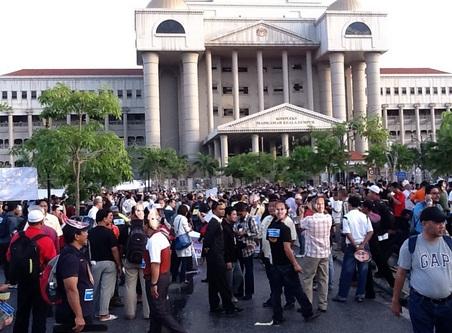 Gambar Terkini Perhimpunan Bebas Anwar Ibrahim Demo 901