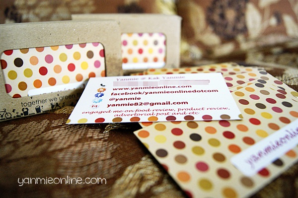 business card 4 Dah Ada Business Card