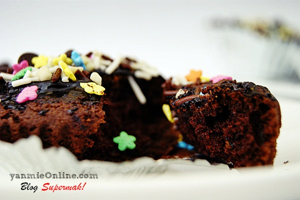 Cupcake Coklat Comel