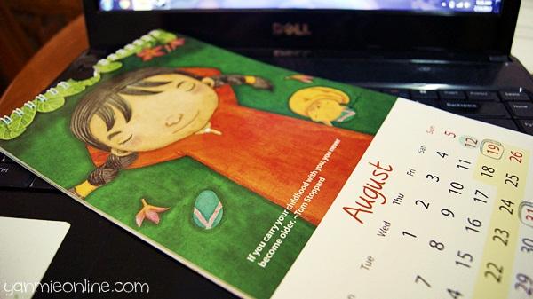 kalendar 2012