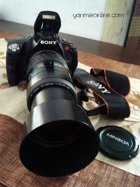 70-300mm lens minolta