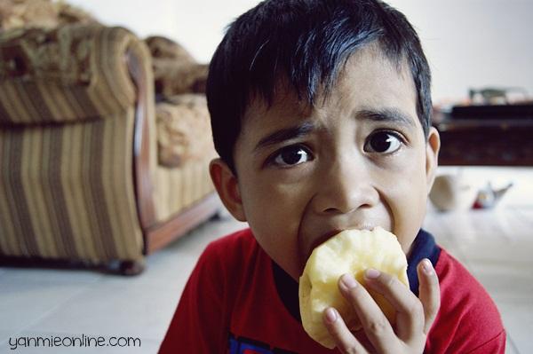 makan epal