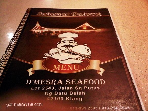 D'Mesra Seafood Klang