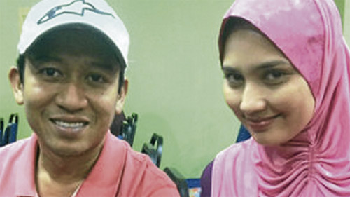 fasha dan jejai di kursus kahwin