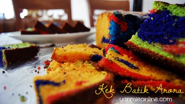 Kek Batik Arora
