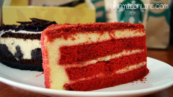 kek red velvet starbuck cafe
