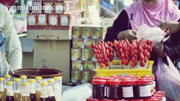 Pasar Malam Brincang Cameron Highland