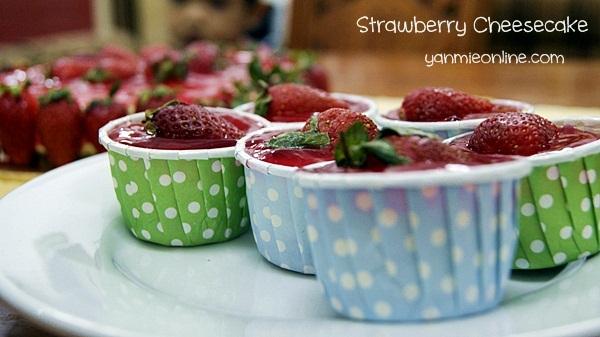 Cupcake Cheesecake Strawberry