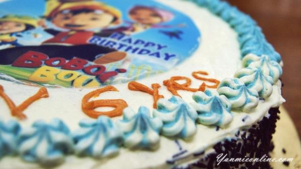 Kek Birthday Untuk Aiman