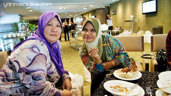 makanan di hotel dtower kl