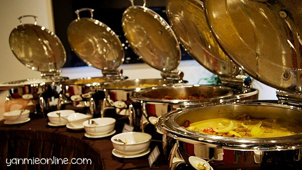 makanan di hotel gtower kl