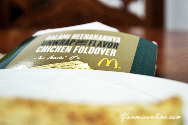 McD Chicken Foldover