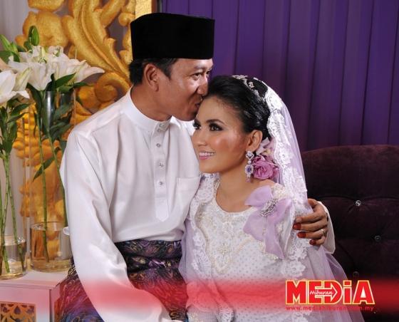 gambar kahwin fasha sandha dan jejai