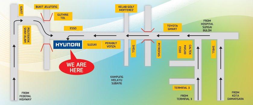maps Sutera Gemilang Auto Sdn Bhd