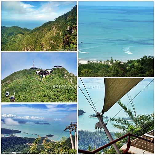 pemandangan dari gunung mat chincang langkawi