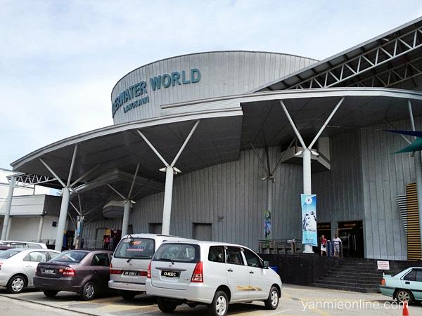 Jalan-jalan Ke Underwater World Langkawi