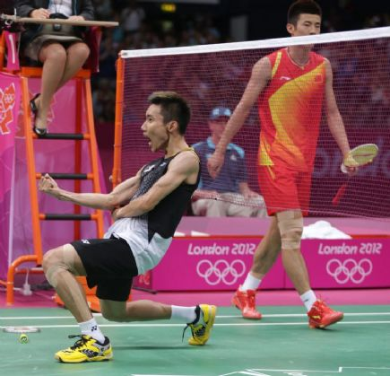 Lee Chong Wei vs Lin Dan Final Bandminton Olimpik 2012 Lee Chong Wei vs Lin Dan Final Bandminton Olimpik 2012