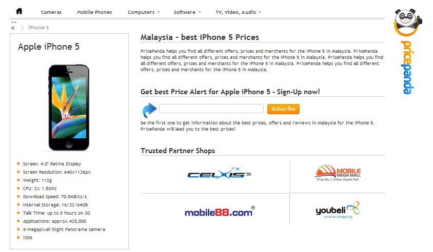 Malaysia - best iPhone 5 Prices