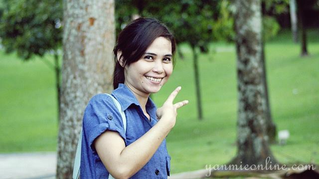 Photoshoot Di Taman Suria KLCC Bersama Adik