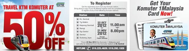 Kad Komuter 1 Malaysia