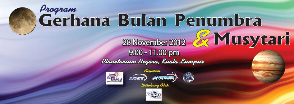 Gerhana Bulan Penumbra 28 November 2012